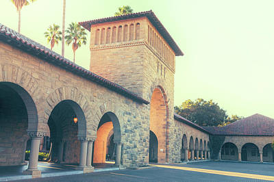 Photograph - Stanford University  by Jonathan Nguyen