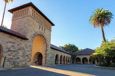 Photograph - Stanford University 2 by Jonathan Nguyen