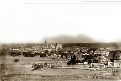 Photograph - Stanford University December 1903 by California Views Mr Pat Hathaway Archives