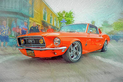 Photograph - Stang Me   by Bill Posner