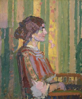 Painting - Stanislawa De Karlowska by Treasury Classics Art