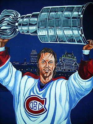 Blau Photograph - Stanley Cup - Champion by Juergen Weiss