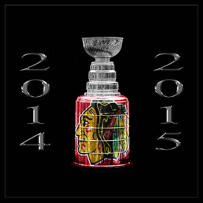 Photograph - Stanley Cup Chicago 4 by Andrew Fare