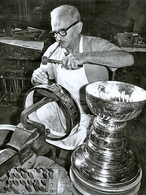 Painting - Stanley Cup Engraving by Paul Van Scott