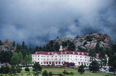 Stanley Hotel At Estes Park Art Print by Gregory Scott