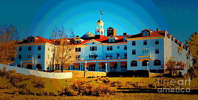 Photograph - Stanley Hotel I by Christine S Zipps