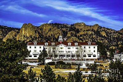 Stanleys Steamers Photograph - Stanley Hotel by Jon Burch Photography