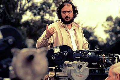 Kubrick Painting - Stanley Kubrick Art by Iguanna Espinosa