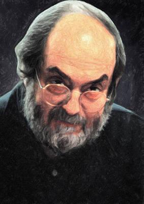 Kubrick Painting - Stanley Kubrick by Taylan Apukovska