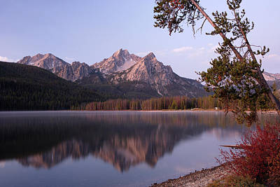 Photograph - Stanley Lake by Eric Foltz