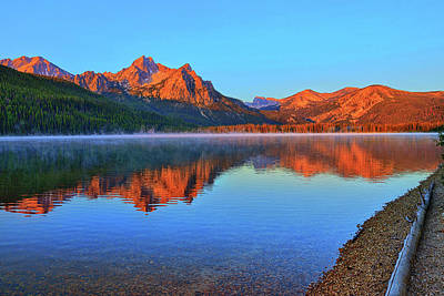 Photograph - Stanley Lake by Greg Norrell