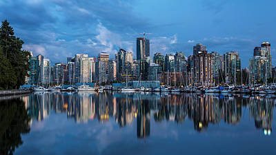 Photograph - Stanley Park Marina Vancouver by Pierre Leclerc Photography