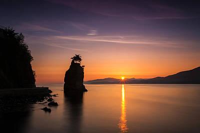 Photograph - Stanley Park Sunset by Pierre Leclerc Photography
