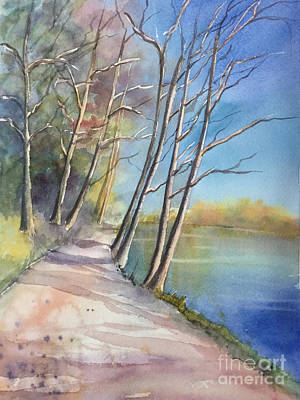 Painting - Stanley Park by Yohana Knobloch