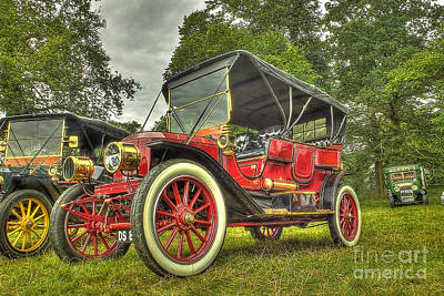 Stanleys Steamers Photograph - Stanley Steam Car by Catchavista