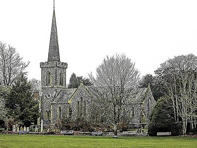 Photograph - Stanmer Church Brighton by Dorothy Berry-Lound