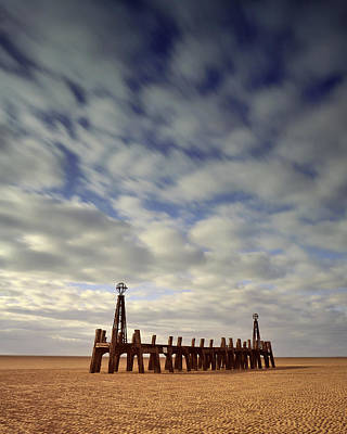 Photograph - St.annes Beach, Lancashire, England by David Stanley