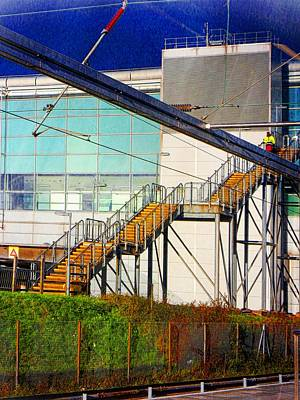 Photograph - Stansted Stairway by Dorothy Berry-Lound
