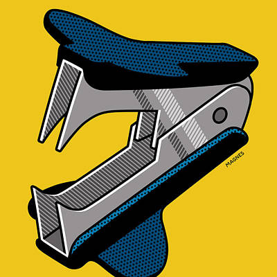 Digital Art - Staple Remover by Ron Magnes