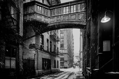 Photograph - Staple Street Nyc by Chris Lord