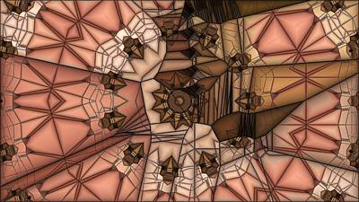 Straps Digital Art - Stapped Together by Ron Bissett