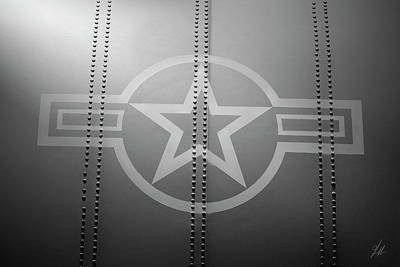 C130 Photograph - Star And Bars by Brandon Griffin