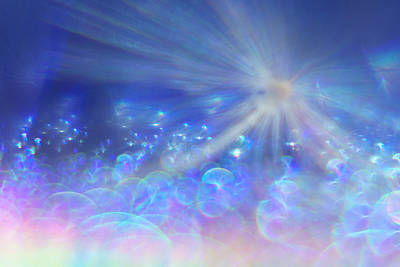 Photograph - Star And Bubbles by Greg Collins