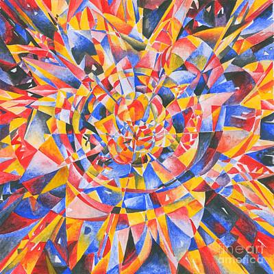 Abstract Drawing - Star by Andrey Soldatenko