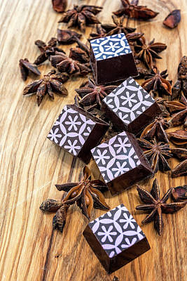 Photograph - Star Anise Chocolate by Sabine Edrissi