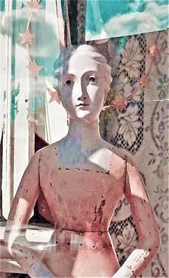 Digital Art - Star by Ann Johndro-Collins