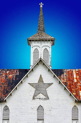 Star Barn 2 Art Print