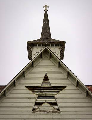 Photograph - Star Barn by Joseph Skompski