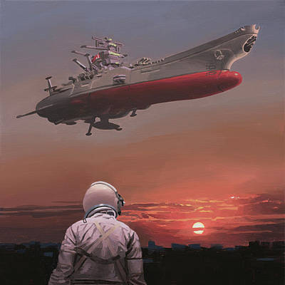 Painting - Star Blazers by Scott Listfield