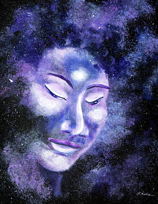 Painting - Star Buddha Of Equanimity by Laura Iverson