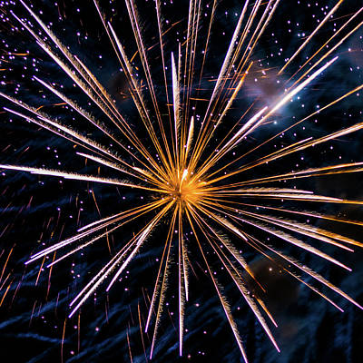 Photograph - Star Burst Star Bright by Stewart Helberg