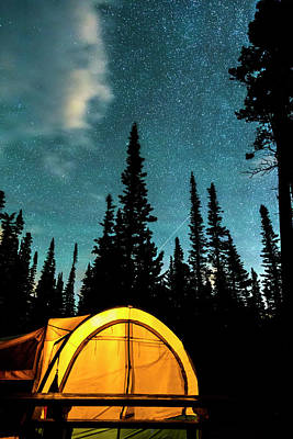 Photograph - Star Camping by James BO Insogna