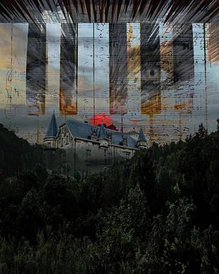 Digital Art - Star Castle by Richard Ricci