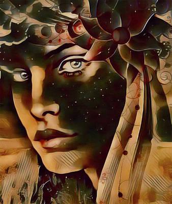 Digital Art - Star Child by Kathy Kelly