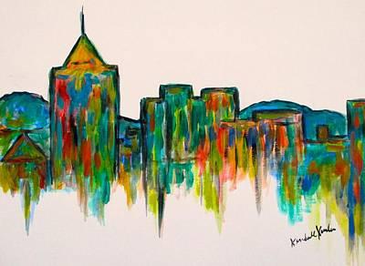 Painting - Star City Edge by Kendall Kessler