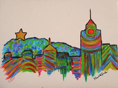 Painting - Star City Play by Kendall Kessler