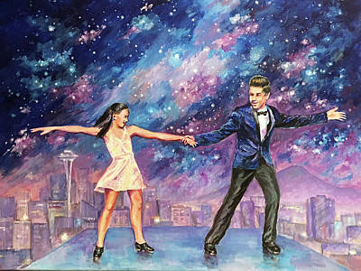 Painting - Star Dance by Svetlana Nassyrov