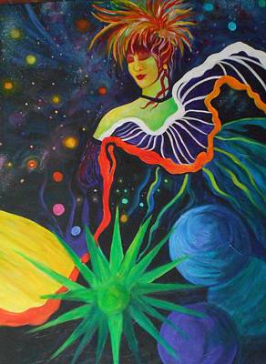Star Dancer Art Print by Carolyn LeGrand
