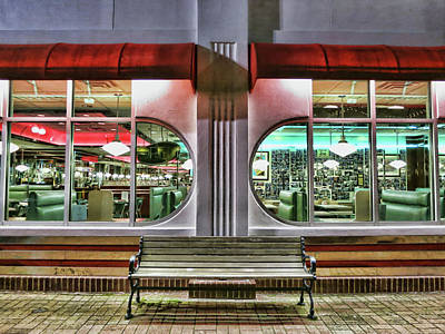 Photograph - Star Diner by Ryan Shapiro