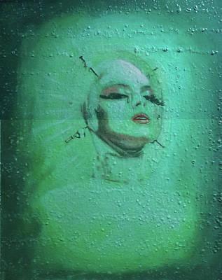 Painting - Star Dream Girl by Steven Lee Matz
