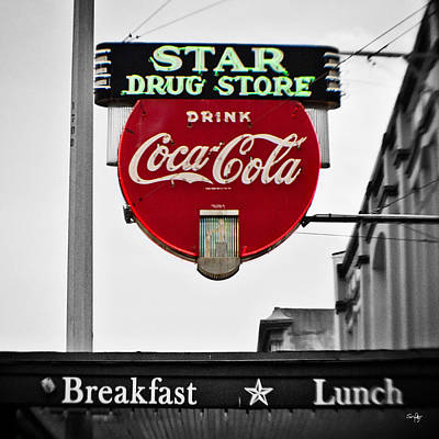 Pellegrin Photograph - Star Drug Store by Scott Pellegrin