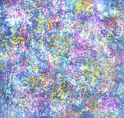 Painting - Star Dust by Jean Batzell Fitzgerald