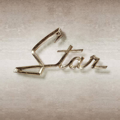Photograph - Star Emblem by YoPedro