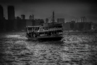Photograph - Star Ferry Harbor Tour by Joseph Hollingsworth