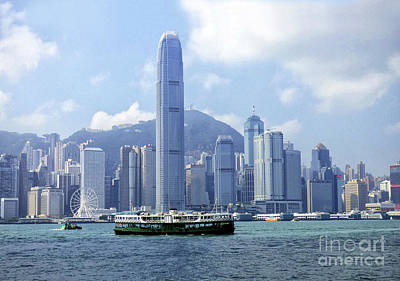 Photograph - Star Ferry Hong Kong by Lynn Bolt