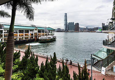 Photograph - Star Ferry Pier In Hong Kong by Didier Marti